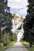 Uspensky Cathedral Yaroslavl Russia — Stock Photo