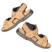 Mens sandals — Stock Photo