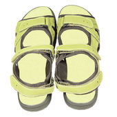Mens sandals — Stock Photo