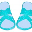 Sandals womens — Stock Photo #47766499