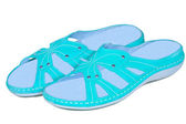 Sandals womens — Stock Photo