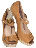 Womens shoes — Stock Photo