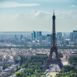 Eiffel Tower view from Montparnasse tower — Stock Photo #25834659