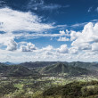 Panoramic view over a valley — Stock Photo #25958311