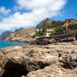 Stock Photo: Mediterraneseand rocky coast of Spain Mallorcisland
