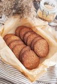 Zelfgemaakte chocolade koekjes — Stockfoto