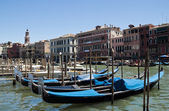 Venetian traditional tranport — Stock Photo