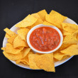 Stock Photo: Chips & Salsa