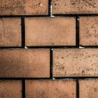 Old brick wall pattern closeup — Foto Stock