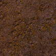 Rusty iron plate background with strong grain — Stockfoto