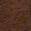 Royalty-Free Stock Photo: Rusty iron plate background with strong grain