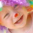 Crying Baby Clown — Stockfoto
