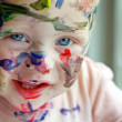 Painted Baby — Stock Photo #31656153
