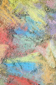 Colorful Chalk Background — Foto Stock