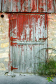 Old Barn Door — Stock Photo