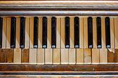 被遗忘的钢琴 — ストック写真