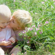 ������, ������: Big Brother Kisses Baby