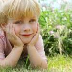 Sweet Child Outside — Stock Photo