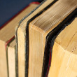 Collection of Vintage Hardcover Books — Stock Photo