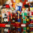 Collection of Christmas Nutcrackers — Stock Photo #36540323