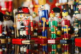 Collection of Christmas Nutcrackers — Stock Photo