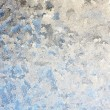 Stock Photo: Frosted Winter Window Glass Background