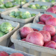 Fresh Fruits and Vegetables for Sale at Farmer's Market — Stock Photo
