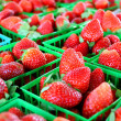 Strawberries at Farmer's Market — Stock Photo #39947655