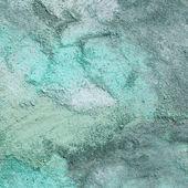 Shades of Blue Sidewalk Chalk Drawing Background — Stock Photo