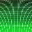 Stock Photo: Green squares arranged in matrix