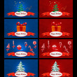 Christmas banners — Stock Photo #24936969