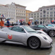 Постер, плакат: International rally of super sports cars in Trieste Italy