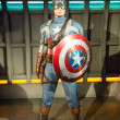 Постер, плакат: The statue of Captain America
