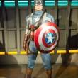 美国队长的雕像 — 图库照片