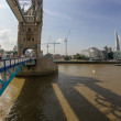 Tower Bridge during the London Olympics 2012 — Stock Photo #25055357