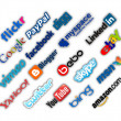 Foto Stock: Internet and social technology