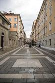 Street St Nicolo in Trieste — Stock Photo