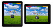 Google Plus, the new Social Network by Google — Stock Photo