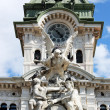 The town hall in Trieste - Stock Photo