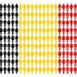 Belgian flag — Stock Photo