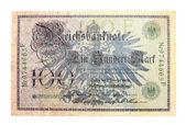 τραπεζογραμμάτιο της αυστριακής αυτοκρατορίας — 图库照片