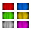 Curtain background in various colors — Stockfoto #25660867