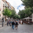 Pedestrian street of Girona — Stock Photo #28145257