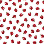 Background with apples — Stock Photo