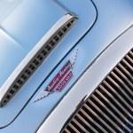 Постер, плакат: Detail blue of classic car