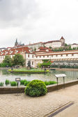 Prag meclis'te senato bahçe — Stok fotoğraf