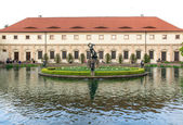 Garden of the Senate of the Parliament in Prague — Stock Photo