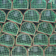 Lobster traps used by Portuguese Fishermen — Stock Photo