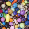 Colourful Wooden Beads — Stock Photo