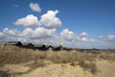 Beach Huts at Walberswick, Suffolk, England — Stock Photo
